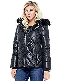Guess Factory Women's Lirisa Quilted Puffer Jacket