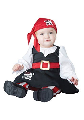 [Petite Pirate Baby Costume, 18-24 Months] (Dr Seuss Baby Halloween Costumes)