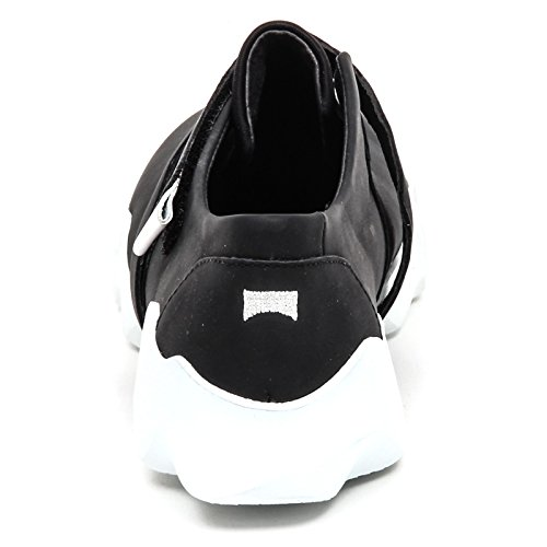 Shoe Woman Donna Nero Nero Sneaker Scarpe D8844 Camper Without Box Cwq00U