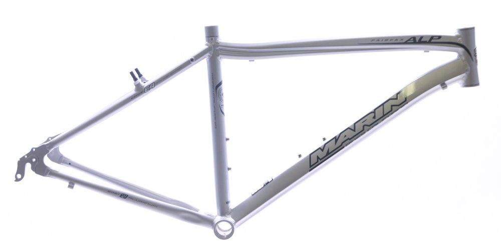 17'' Marin Fairfax Alp 700c Aluminum Comfort / Hybrid Bike Frame Silver NEW