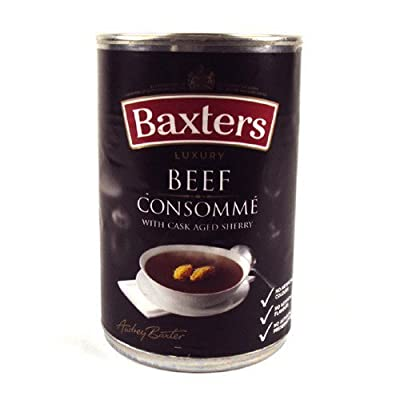 Baxters Luxury Beef Consomme Soup 415G by Baxters