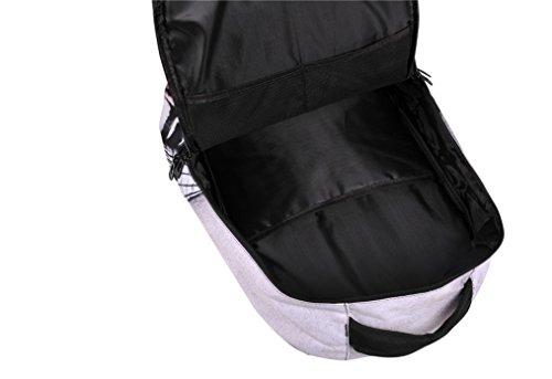 Cosstars 3D Drucken Unisex Rucksack Schulrucksack Backpack Daypack Polyester Schultasche