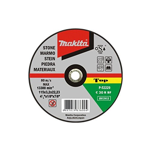 Disco de corte piedra 230mm x 3.2mm Makita P-52211