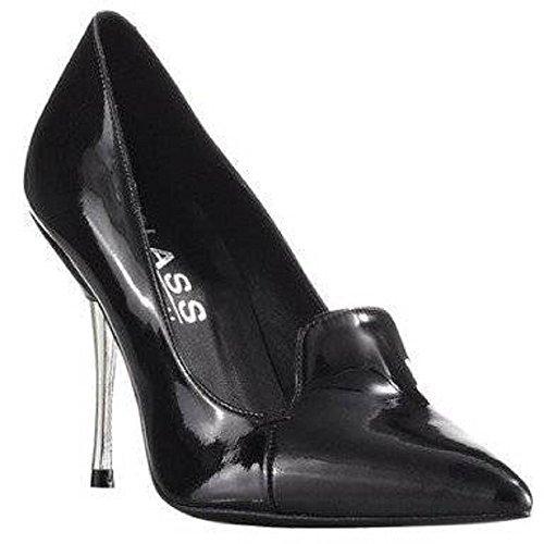 Vestir negro Pumps de International de Class Zapatos cuero negro Mujer qwFZIRP