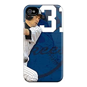 Premium Protection New York Yankees Case Cover For Iphone 4/4s- Retail Packaging