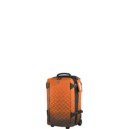 Victorinox Lightweight Carry On (Victorinox Vx Touring Wheeled 2-in-1 Backpack Carry on, Gold Flame)