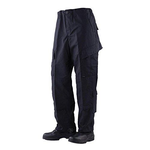 Tru-Spec TAC T.R.U.Trousers 50/50 Nylon/Cotton Rip-Stop, Black, 2XLarge Long 1392027 by Tru-Spec