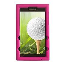 Bobj for Lenovo Tab 2 A7-20, Tab 2 A7-10 - BobjGear Protective Tablet Cover (Rockin' Raspberry)