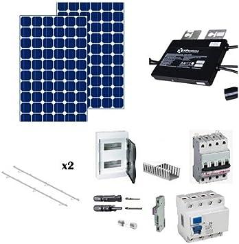 kit solar autoconsumo 1000w