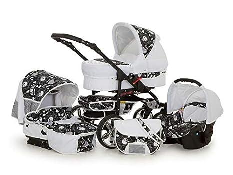SaintBaby carritos X-Move Rocker 2en1 3en1 ponerse blanco & cráneo 2en1 sin asiento