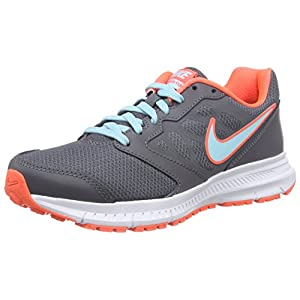Nike Womens Downshifter 6 Dark Grey/Copa/Hypr Orng/White Running Shoe 8 Women US