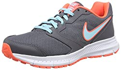 Nike Womens Downshifter 6 Dark Greycopahypr Orngwhite Running Shoe 8 Women Us