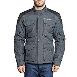 Royal Enfield Khardungla Riding Jacket Grey (S) 38 CM(RRGJKI000001)