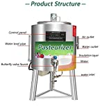 MXBAOHENG Commercial Pasteurizer Pasteurization