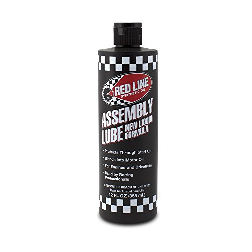 Engine Assembly Lube - Red Line 80319 Liquid Assembly Lube, 12 Ounce, 1 Pack