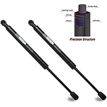 BOXI 2pcs Rear Trunk Lift Support for Mercedes Benz SL300 SL320 SL 500 SL600 1994-2002 Trunk 1299800664,SG403018