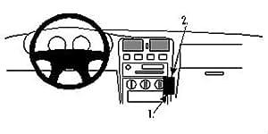 Brodit ProClip - Kit de coche para Nissan Almera 96-99  (para Europa, ángulo de montaje)