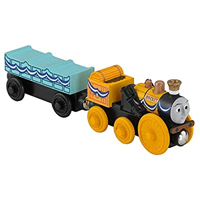 Fisher-Price Thomas & Friends Wooden Railway, Stephen Engine: Toys & Games