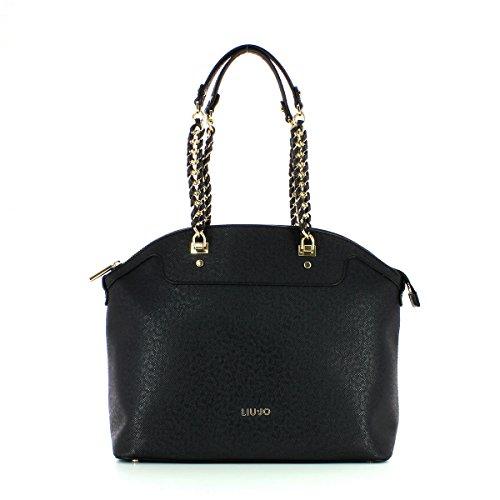 Liu.Jo Borsa Shopping Anna Chain Nera A17002