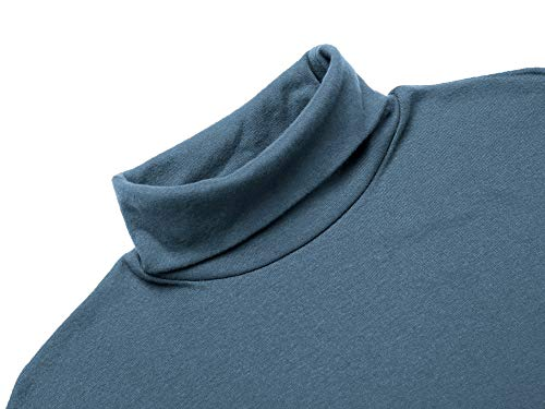 PAUL JONES Mens Long Sleeve Themal Fleece Contrast Ribbing Edge Zip-up Jacket
