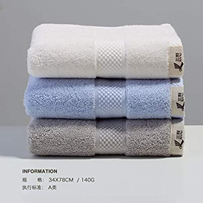 WLLLO Toalla de Hotel, algodón, Lavado de Cara, absorción de Agua ...