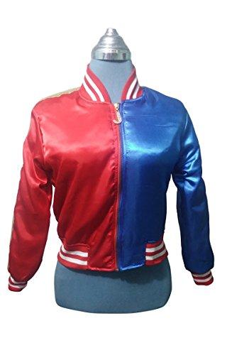 [New Harley Quinn HQ Costume Jacket For Women - Deal of the Month] (New Harley Quinn Costumes)