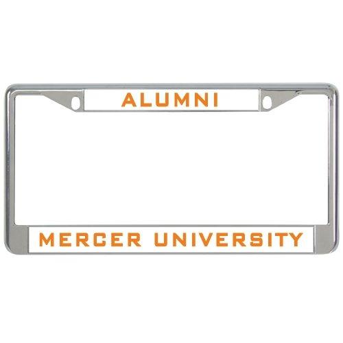Mercer Metal License Plate Frame in Chrome  Alumni Mercer University  17244d1c9706b