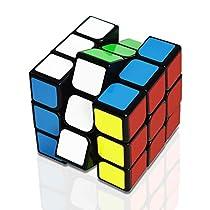 スピードキューブ 3x3x3 ルービックキューブ ステッカーレス 立体...