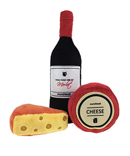 munchiecat Wine and Cheese Toys for Cats | 8