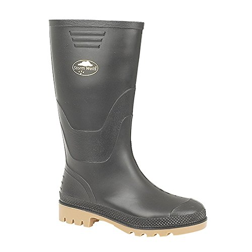 Kids Wellington (Stormwell Childrens/Kids Junior Wellingtons (1 US) (Black))
