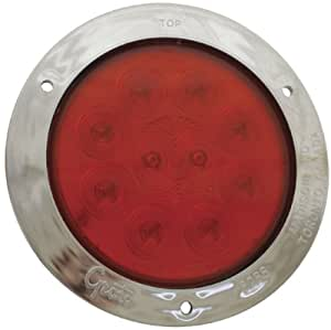"""Grote SuperNova, 4"""", 10-Diode Pattern, Stop/Tail/Turn LED Lamp Red 53302"""