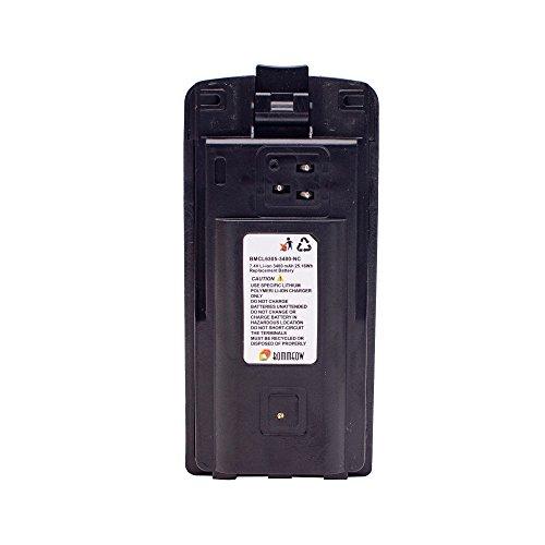 Bommeow BMCL6305-3400-D Replacement Battery for Motorola CP110 RDM2070D RDM2020 RDM2080d RDX Series Radios by BOMMEOW