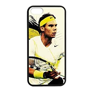 iPhone 5 Case, [Nadal] iPhone 5,5s Case Custom Durable Case Cover for iPhone5 TPU case(Laser Technology)