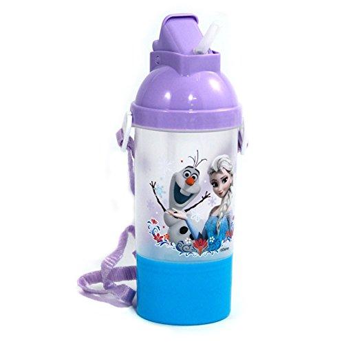 Frozen Rock N Sip N Snack Canteen Water Bottle for Kids