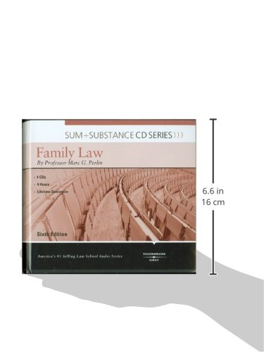 Sum and Substance Audio on Family Law by Brand: West