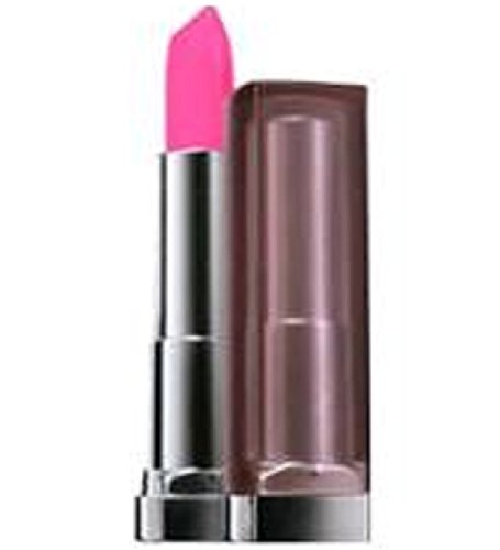Maybelline New York Color Sensational Creamy Matte Lip Color, Electric Pink 0.15 oz (Pack of 2)