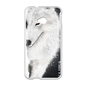 Snow Wolf Hot Seller Stylish High Quality Hard Case For HTC M7