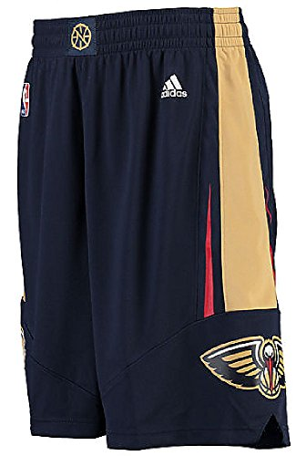 NBA New Orleans Pelicans Youth Boys 8-20 Replica Road Shorts, Medium , Navy
