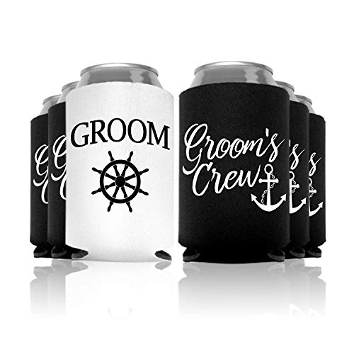 Groom's Wedding Special Can Coolers Bachelor Party Favor