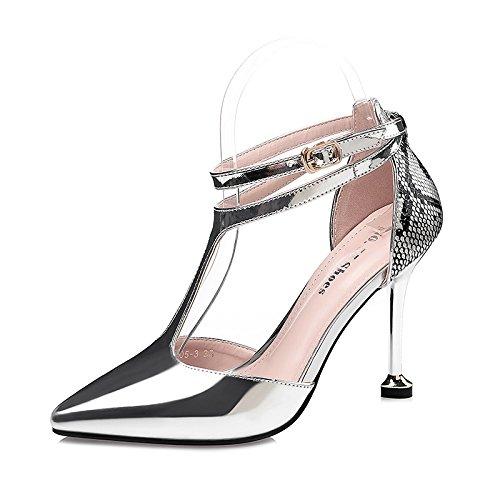 FLYRCX Damen Mode Persönlichkeit TIPP Pumpen sexy mit Einem Einem Einem feinem Leder Schuhe. c4ecba