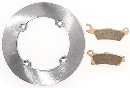 2013-2014 Can-Am Outlander DPS 800R -Rear MudRat Brake Rotor & Severe Duty Pads - Pad Solid Race Disc