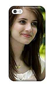 For Iphone 5/5s Tpu Phone Case Cover(emma Roberts?wallpaper )