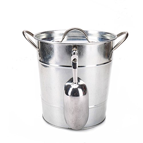 enamel bucket with lid - 8