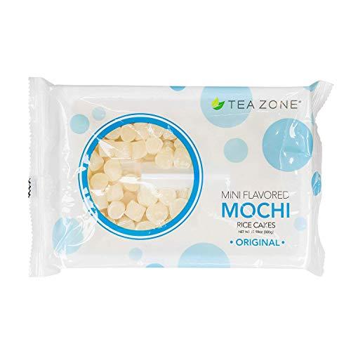 Tea Zone 10.6 oz Original Mini Mochi, 25 Count (Mini Green Tea Mochi)
