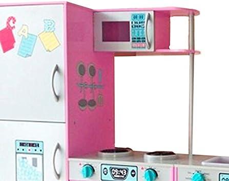 Tachan- Cocina de Madera, Color Rosa (CPA Toy Group 7791106 ...