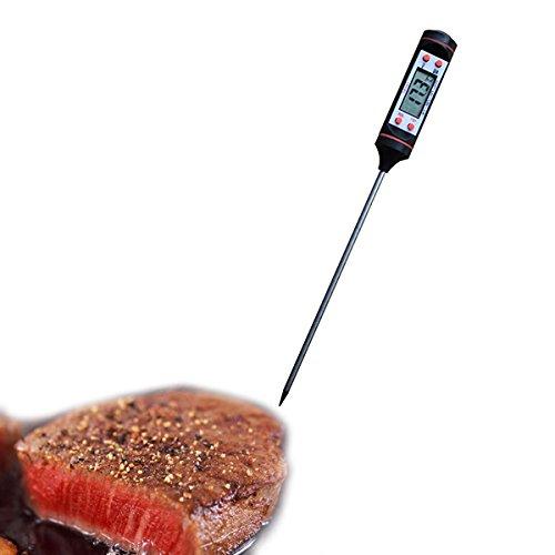 356 opinioni per Multifunzione Digitale Termometro da Cucina Cibi Bevande Barbecue 4 tasti