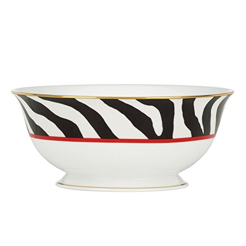 Lenox Scalamandre Zebras Serving Bowl, -