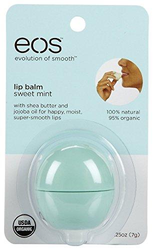 Eos Lip Balm Sweet Mint Size .25z Eos Lip Balm Sweet Mint .2