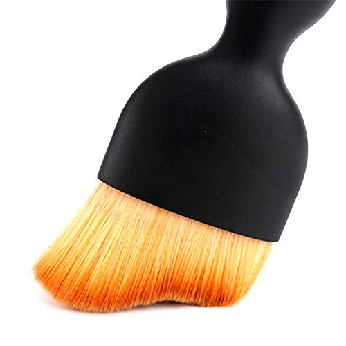 BEST CONTOUR MAKEUP BRUSH For That Look of Perfection, Soft Curved Professional Make Up Brush For Flawless Application of Foundation, Liquid, Powder, Concealer & For Effortless Blending & Contouring