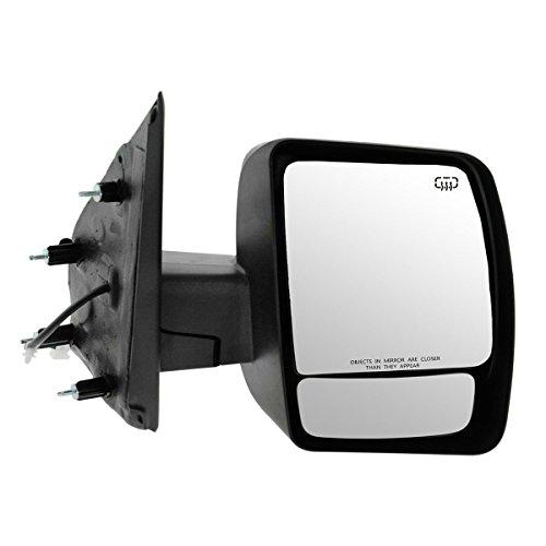 Mirror Power Heated Chrome Passenger Side RH for 12-13 Nissan NV 1500 2500 3500